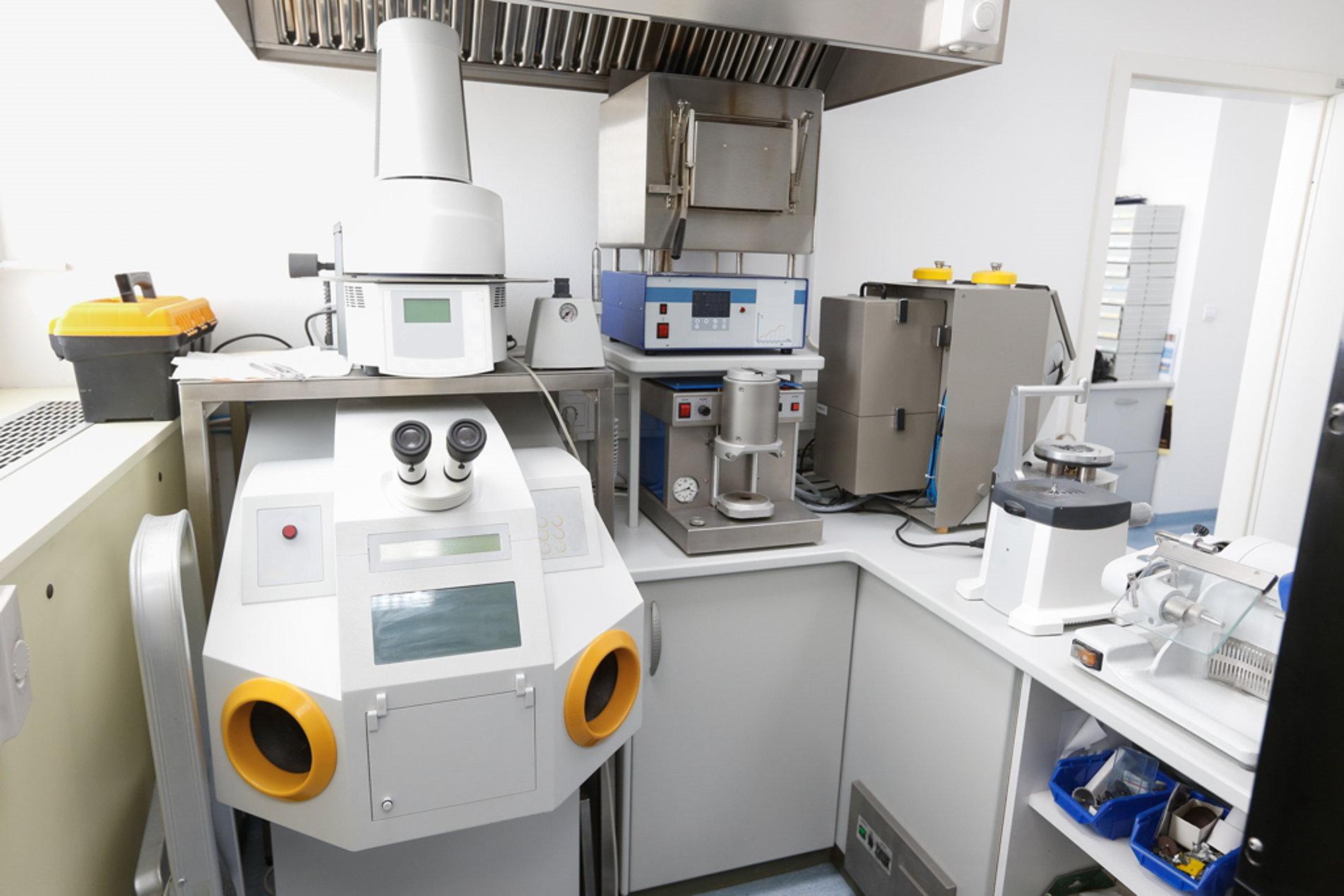 Tandtechniek Rotterdam laboratorium